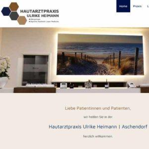Referenz-Link zur Webseite der Hautarztpraxis Ulrike Heimann in Aschendorf